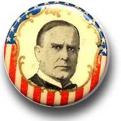 William McKinley Campaign Button