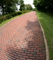 Brick Section of Original National Road