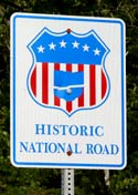National Road Designation Marker