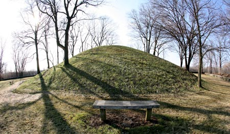 Shrum Hopewell Mound in Columbus