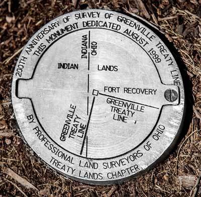 Fort Recovery Surveyor's Mark