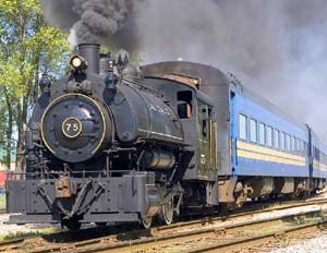 Steam Engine Train Ride
